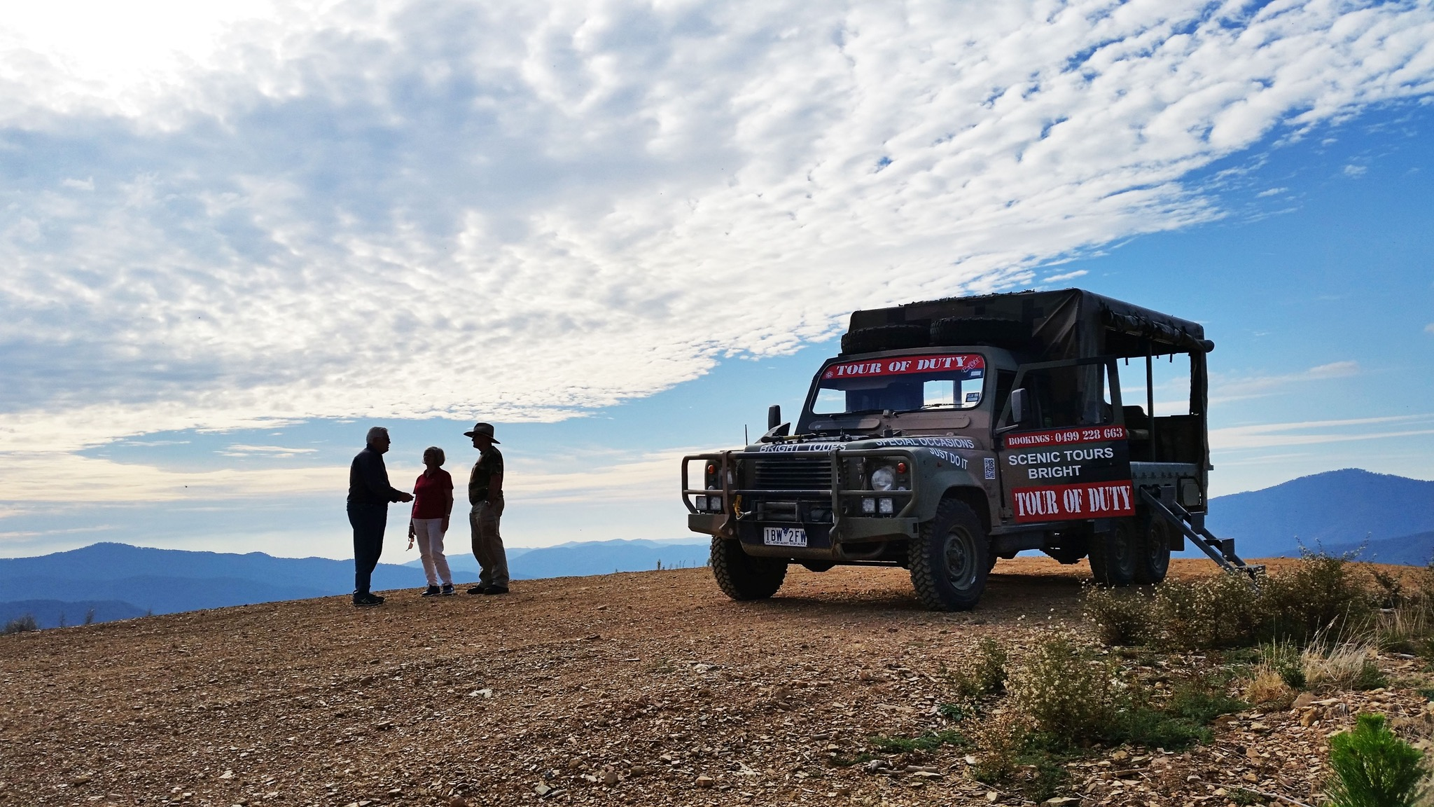 360degree views with local knowledge from your Guide Allan