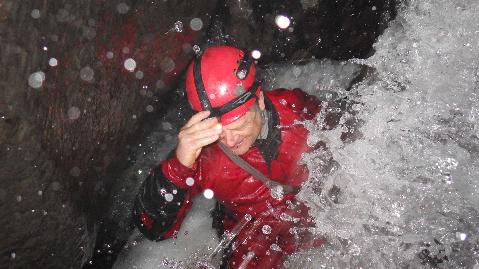 Caving through The Underground River