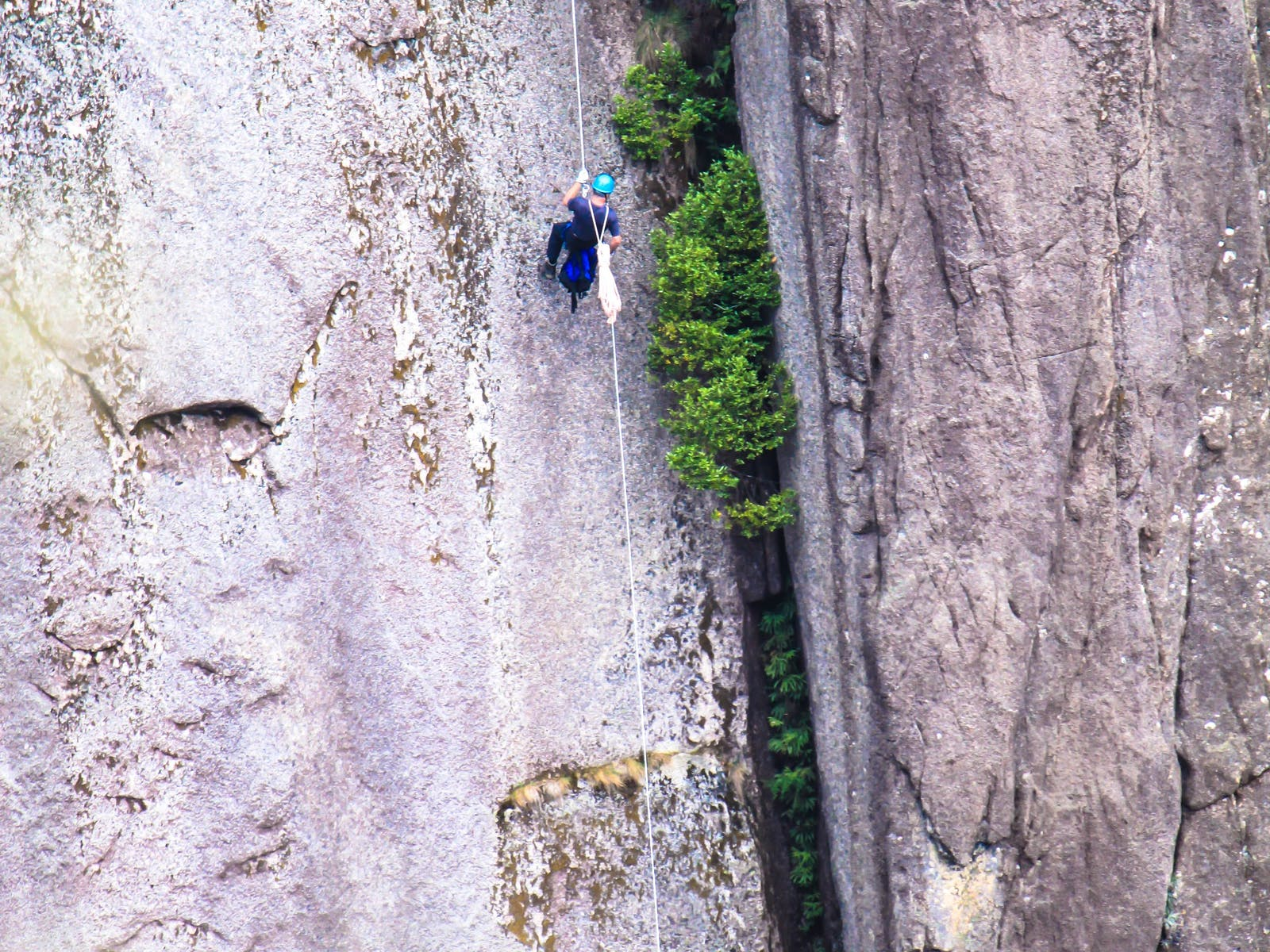 Abseiling The North Wall