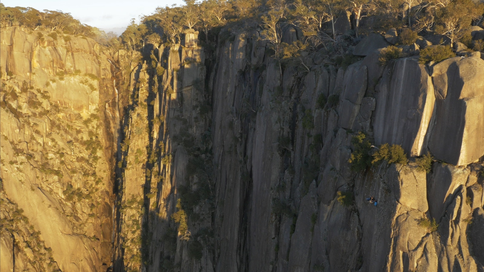 Unleashed-Unlimited Portaledge and Waterfall in Mt Buffalo Gorge