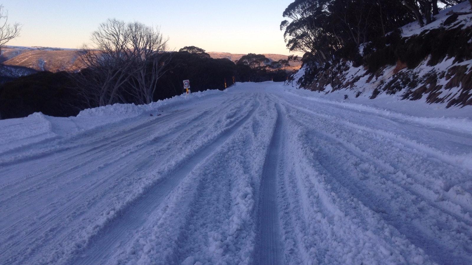 Road to Mt Hotham