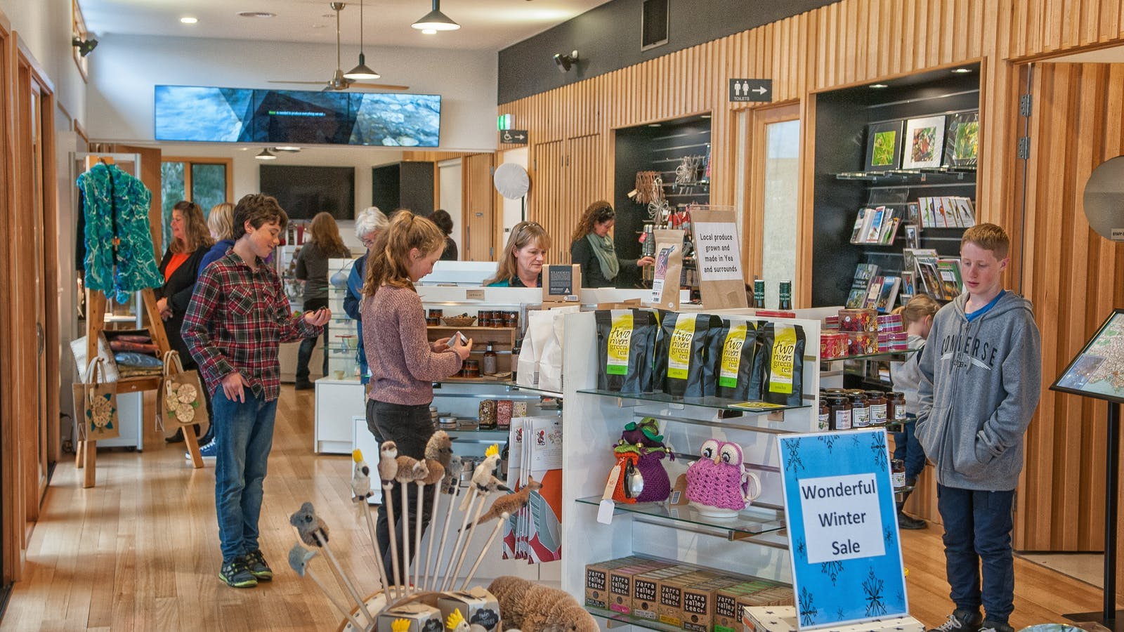 Y Water Discovery Centre Gift Shop
