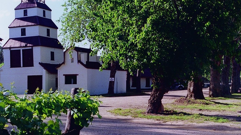 Historic Tahbilk Winery and cellar door, near Nagambie