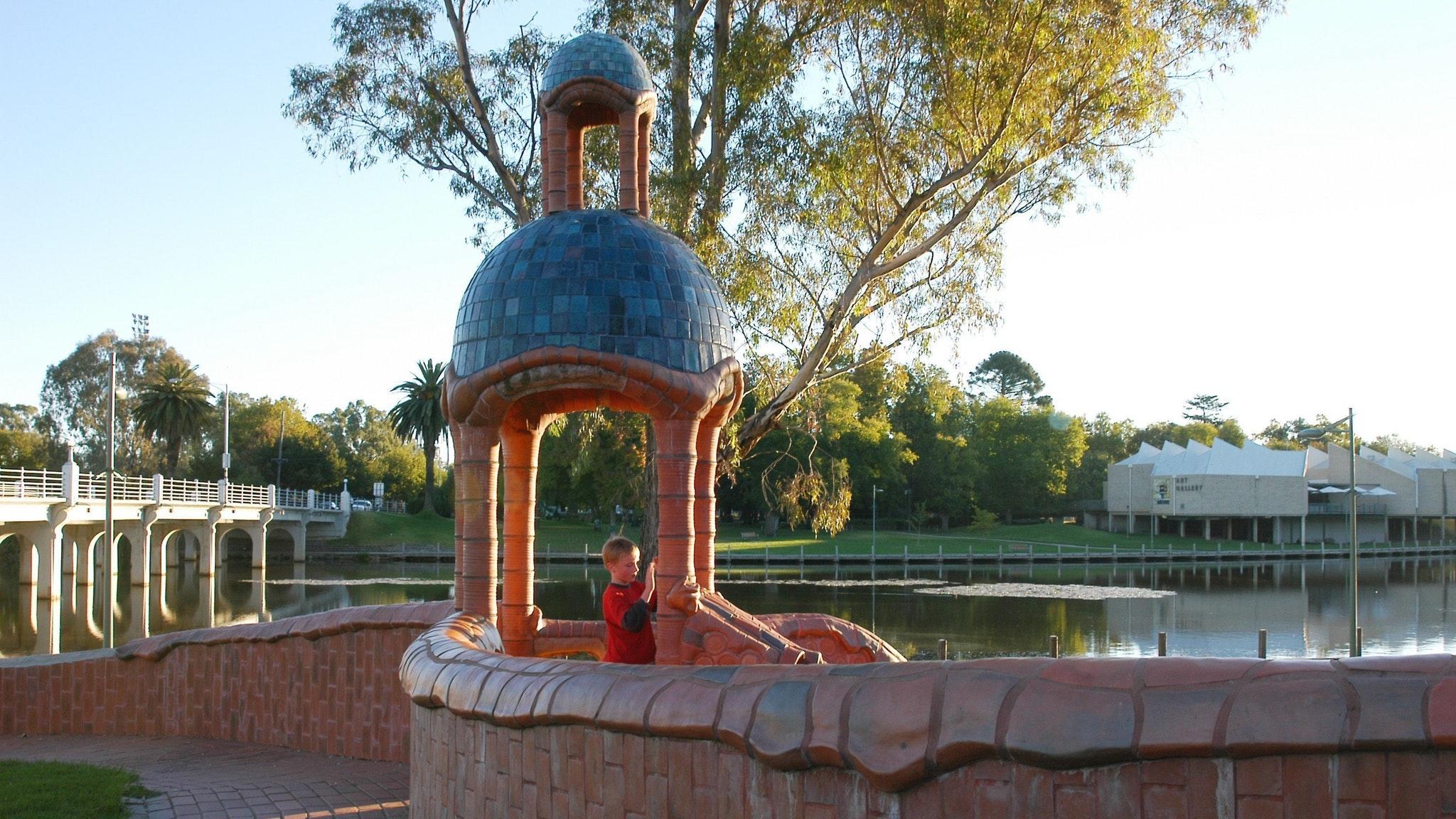 Benalla Ceramic Mural and Bridge