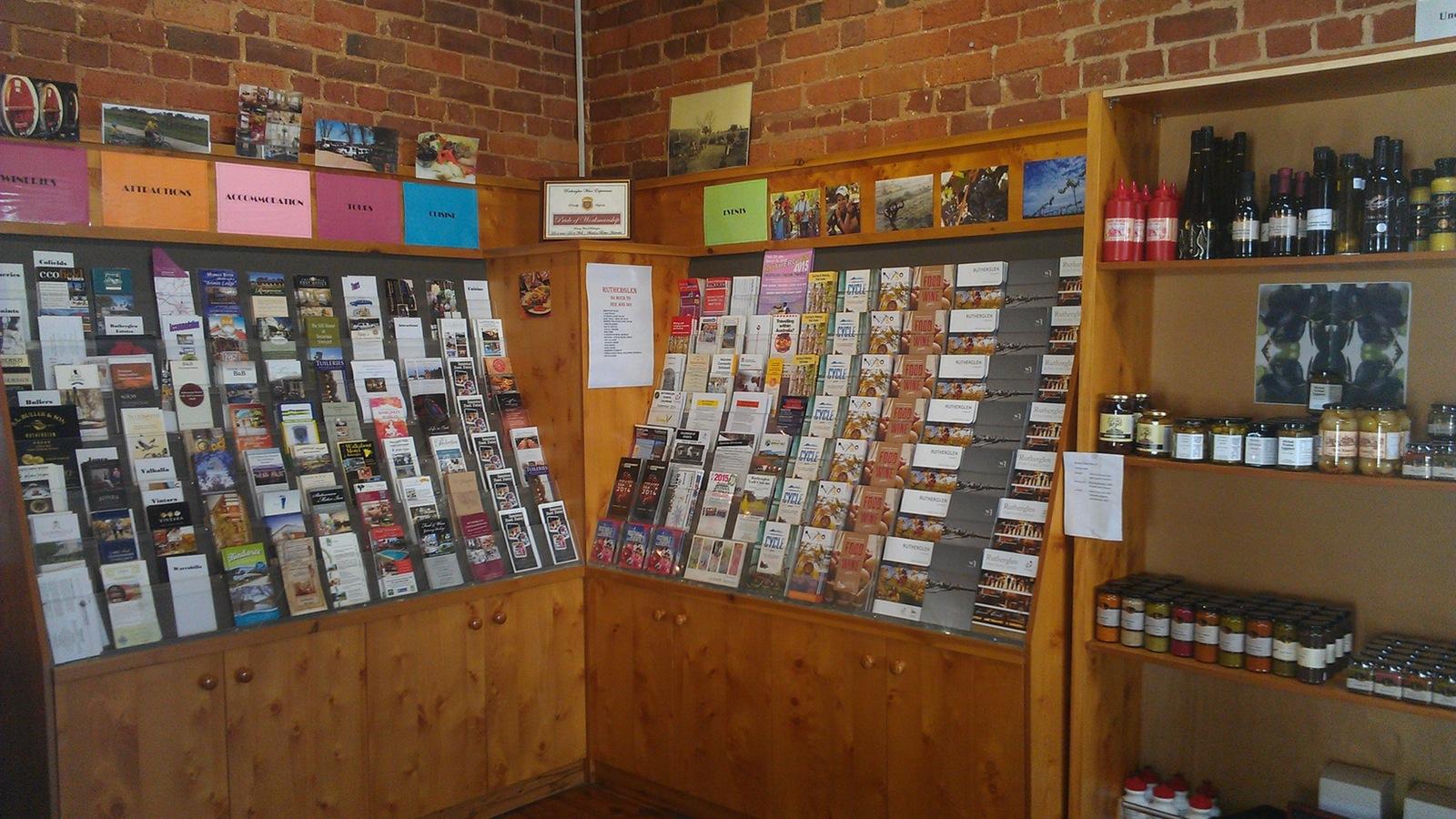 Information Center brochures