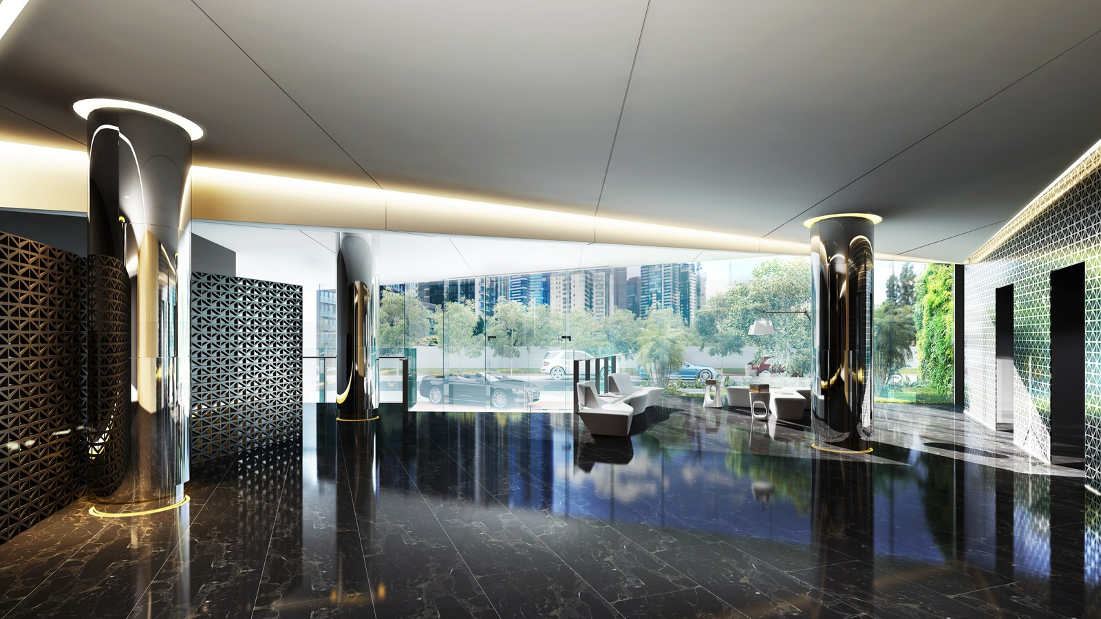 reception render