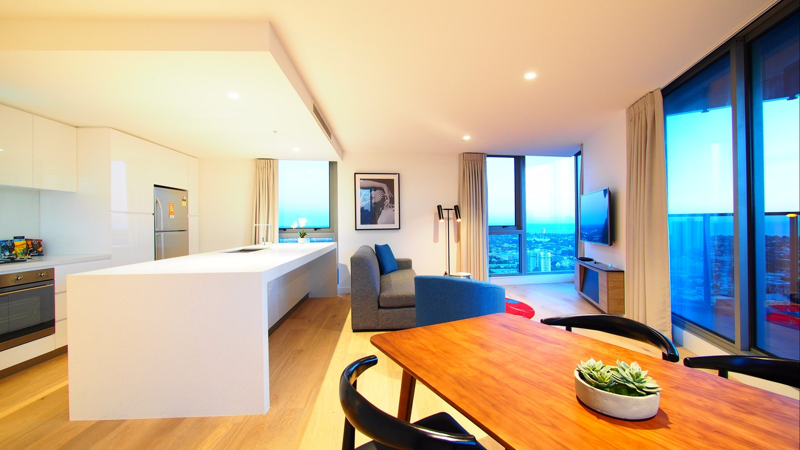 Executive two bedrooms