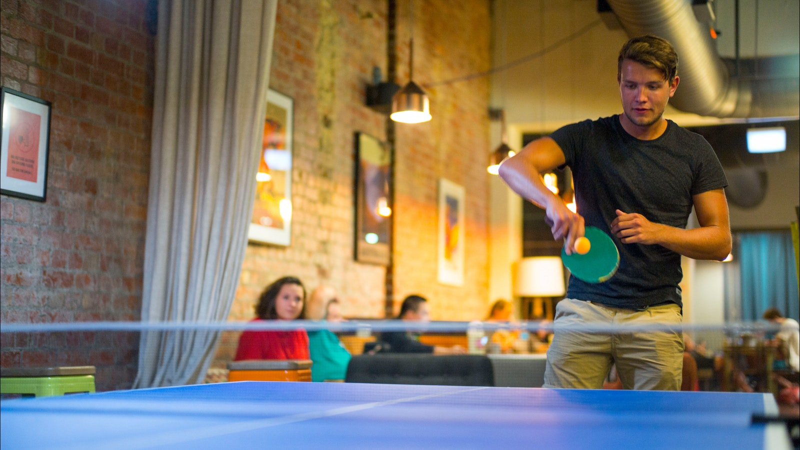 Melbourne Central YHA Table Tennis