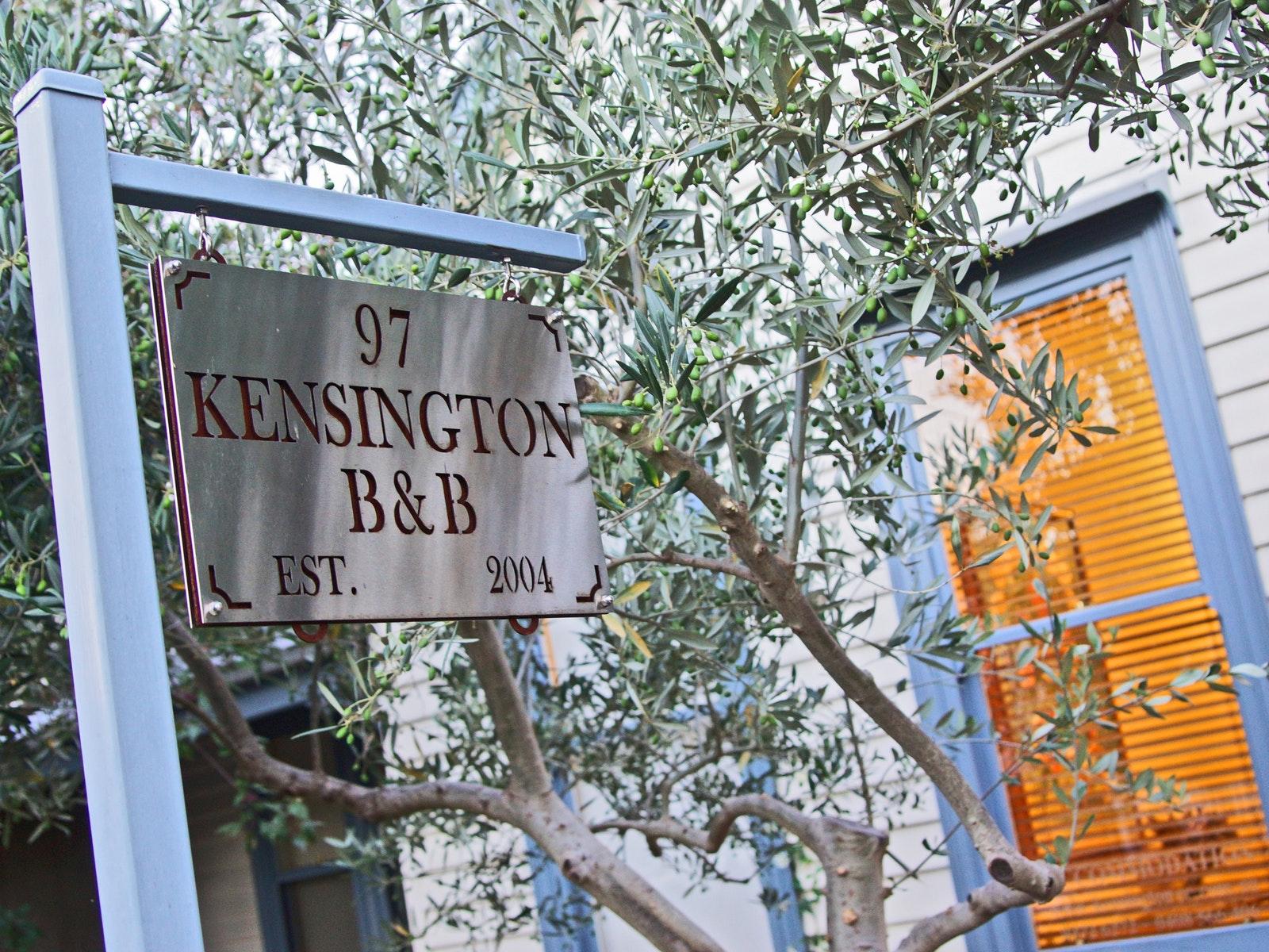 Welcome to Kensington B&B