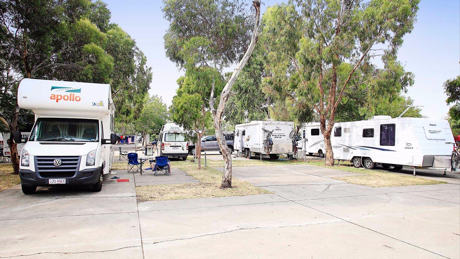 Caravan sites at Discovery Parks - Melbourne