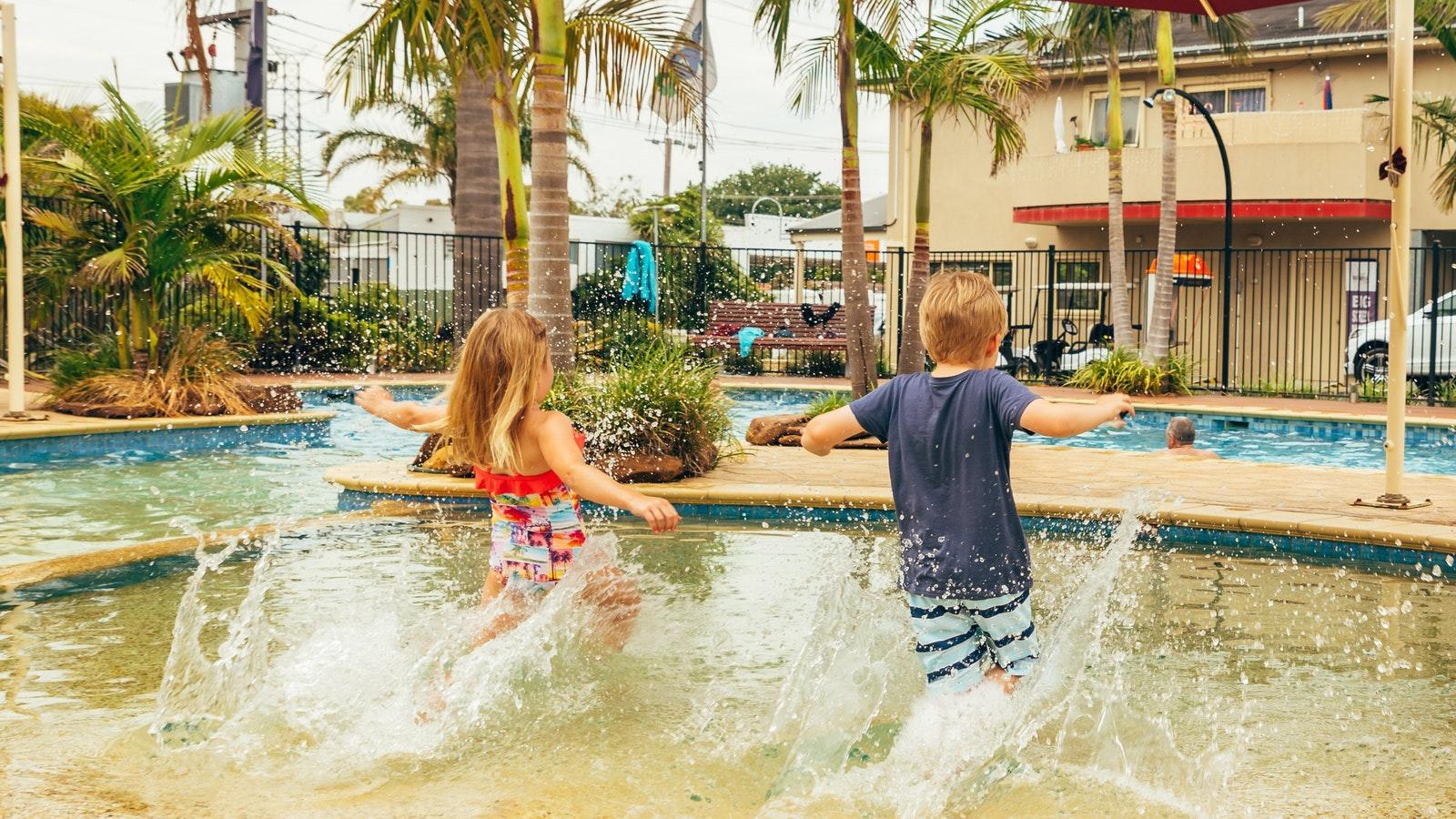 Swimming Pool at Melbourne BIG4 caravan park