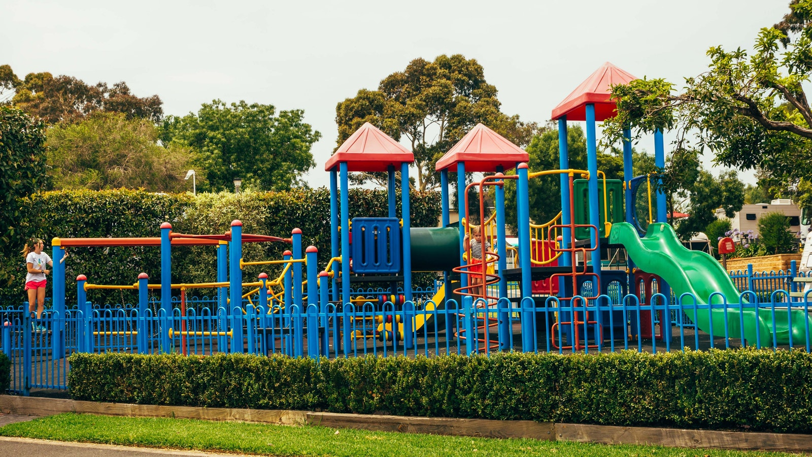 Adventure Playground at Melbourne BIG4 Holiday Park