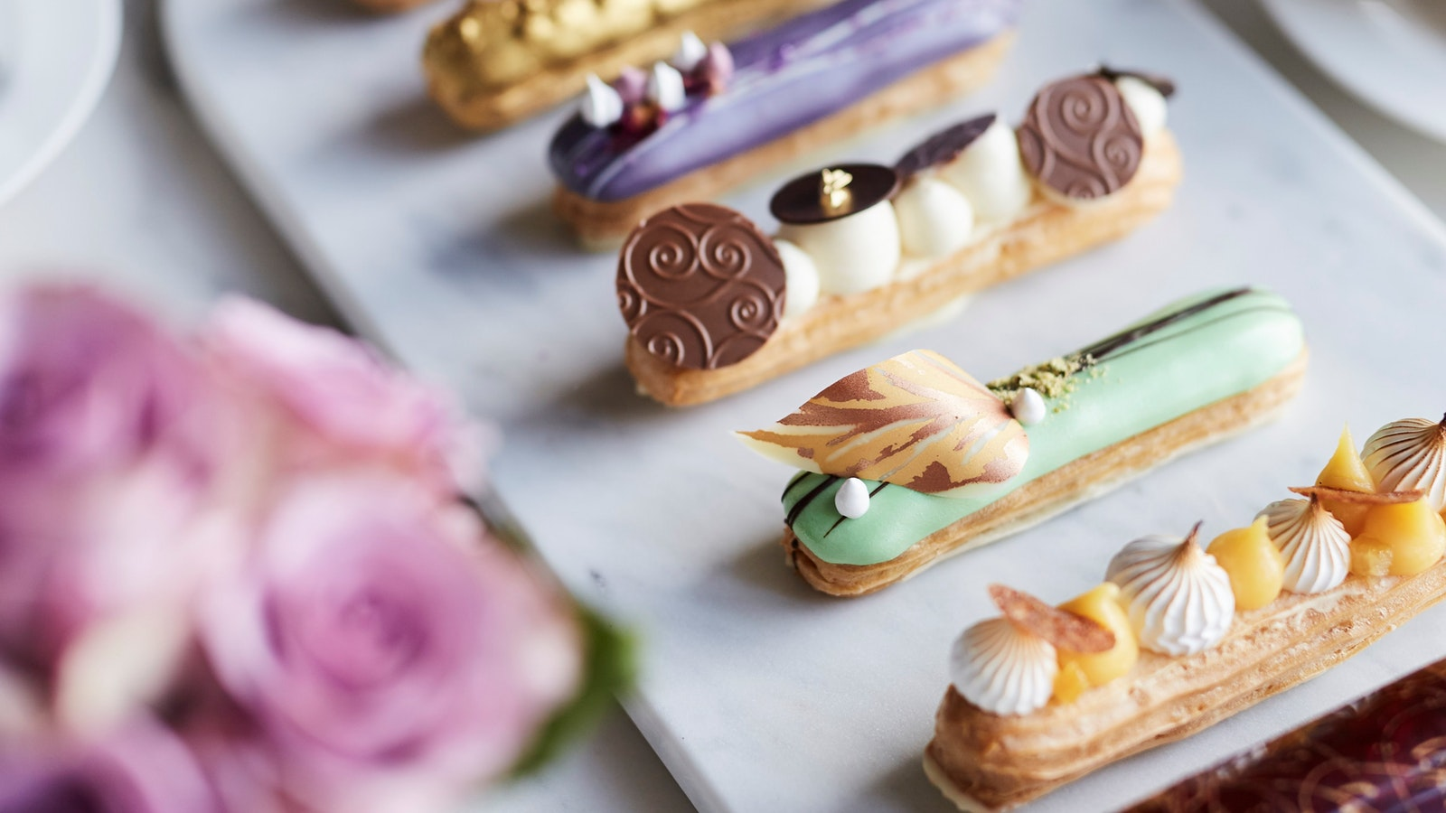 Eclairs with Flair at Sofi's Lounge