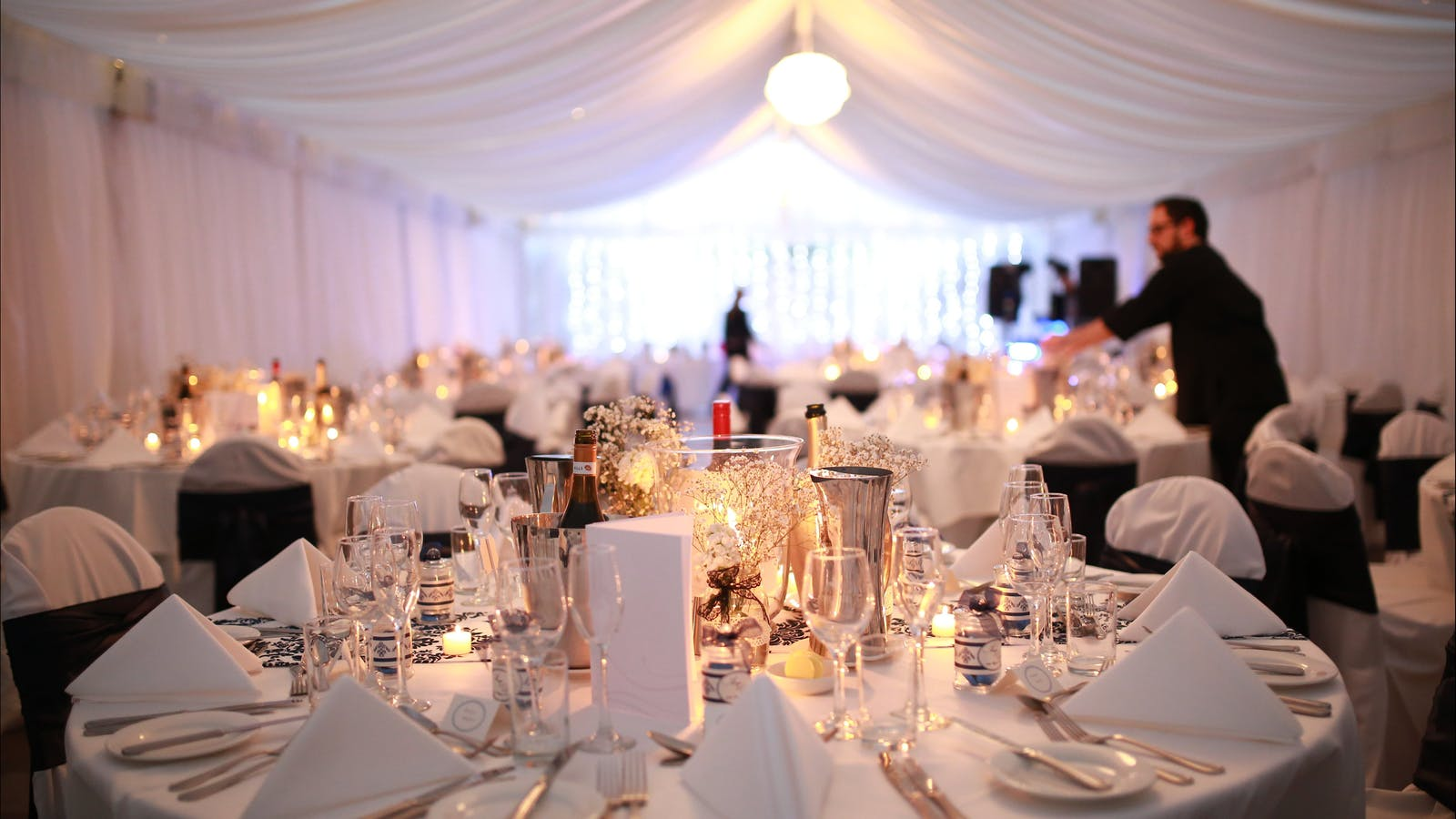 Wedding in the Central Marquee