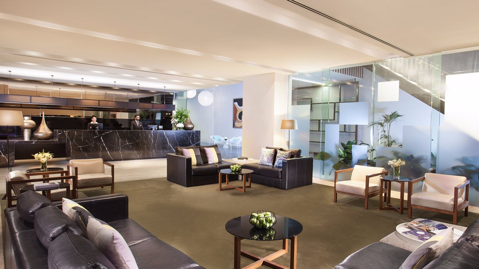 Citadines on Bourke Melbourne - Lobby and Reception