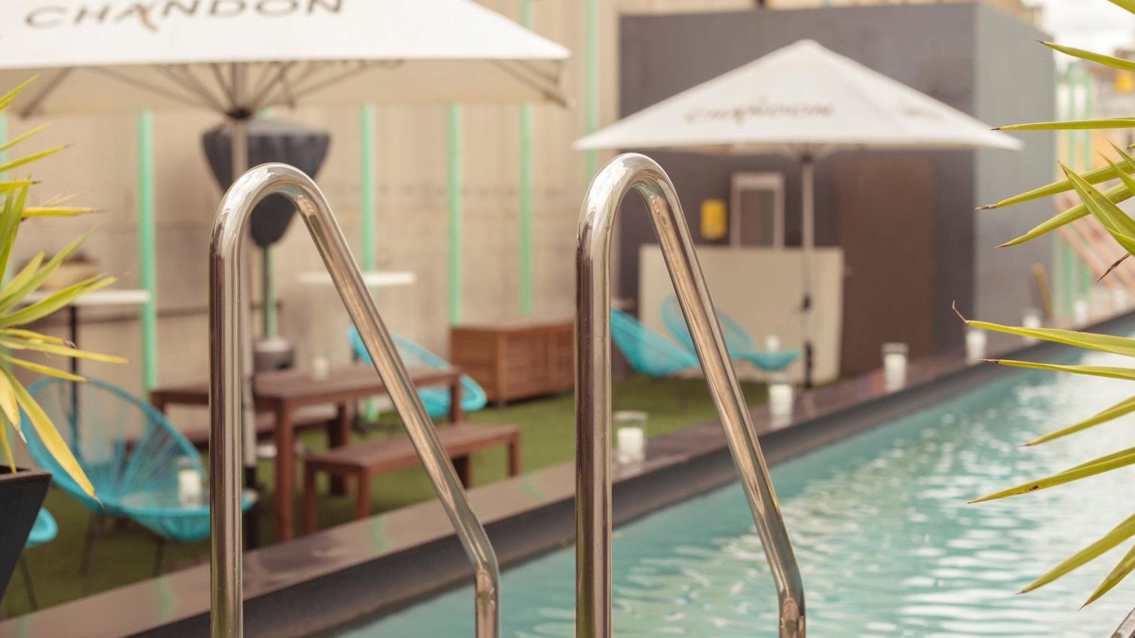 Adelphi Rooftop Pool Deck