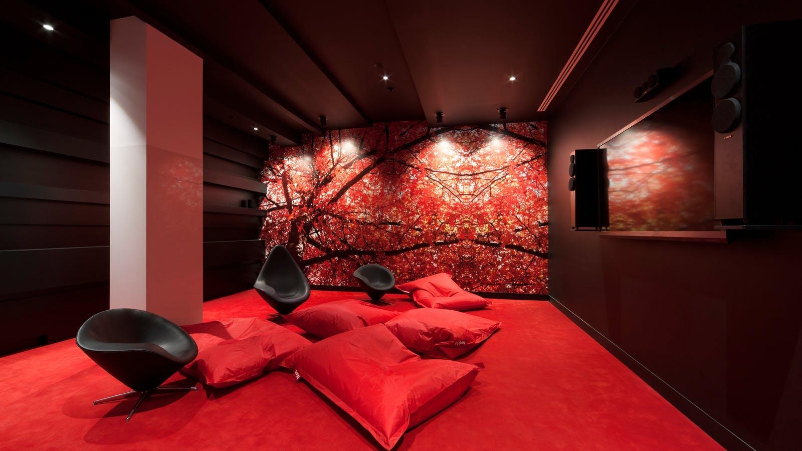 Sebel Melbourne Docklands Cinema Room