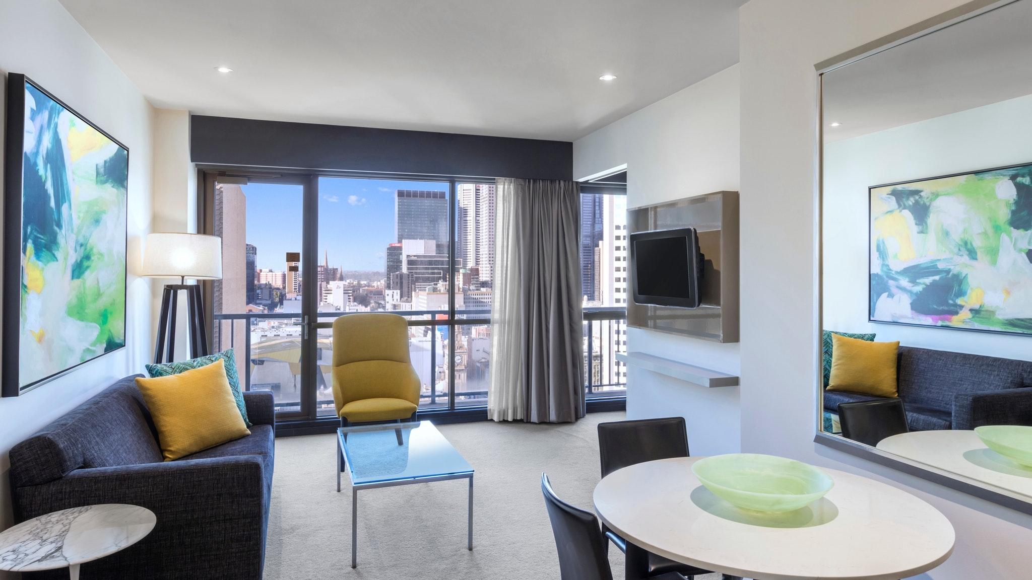 Adina Apartment Hotel Melbourne, Accommodation, Melbourne ...