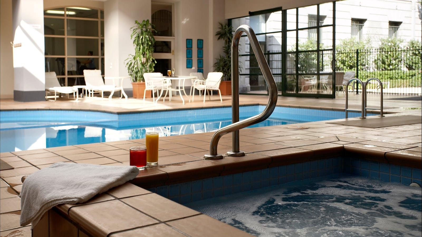 Indoor Heated Pool Grand Hotel Melbourne