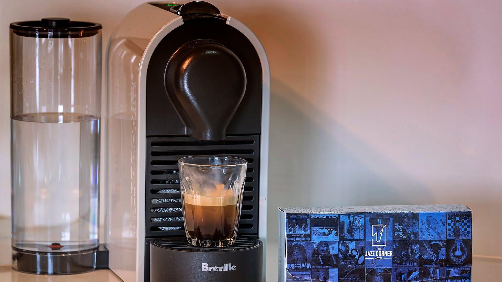 The Jazz Corner Hotel coffee