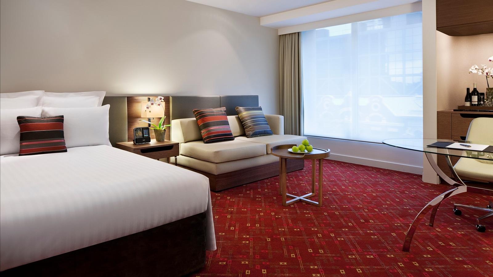 Melbourne Marriott Hotel - Premier Room