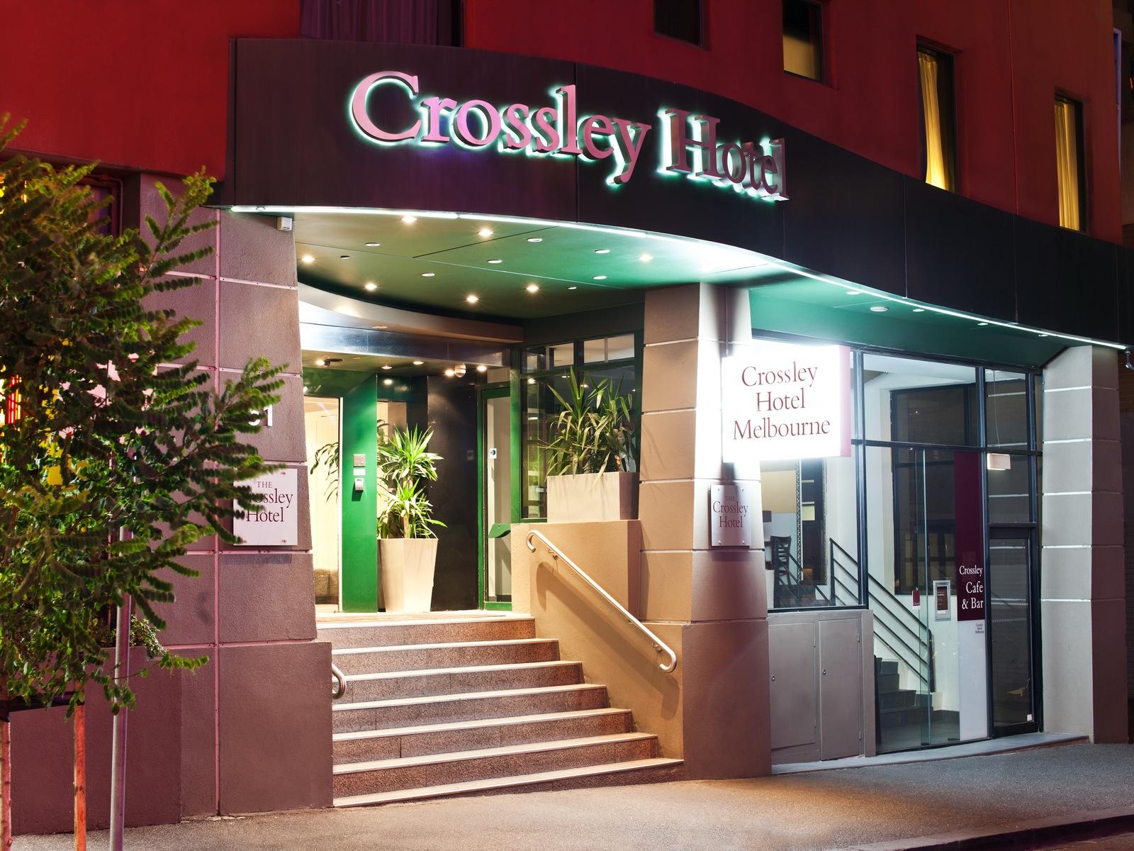 Crossley Hotel Front Entrance