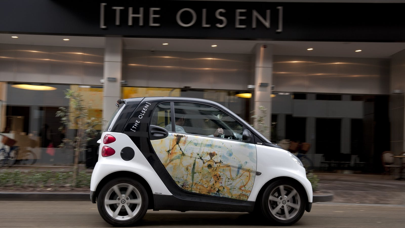 Smart Car Hire at The Olsen