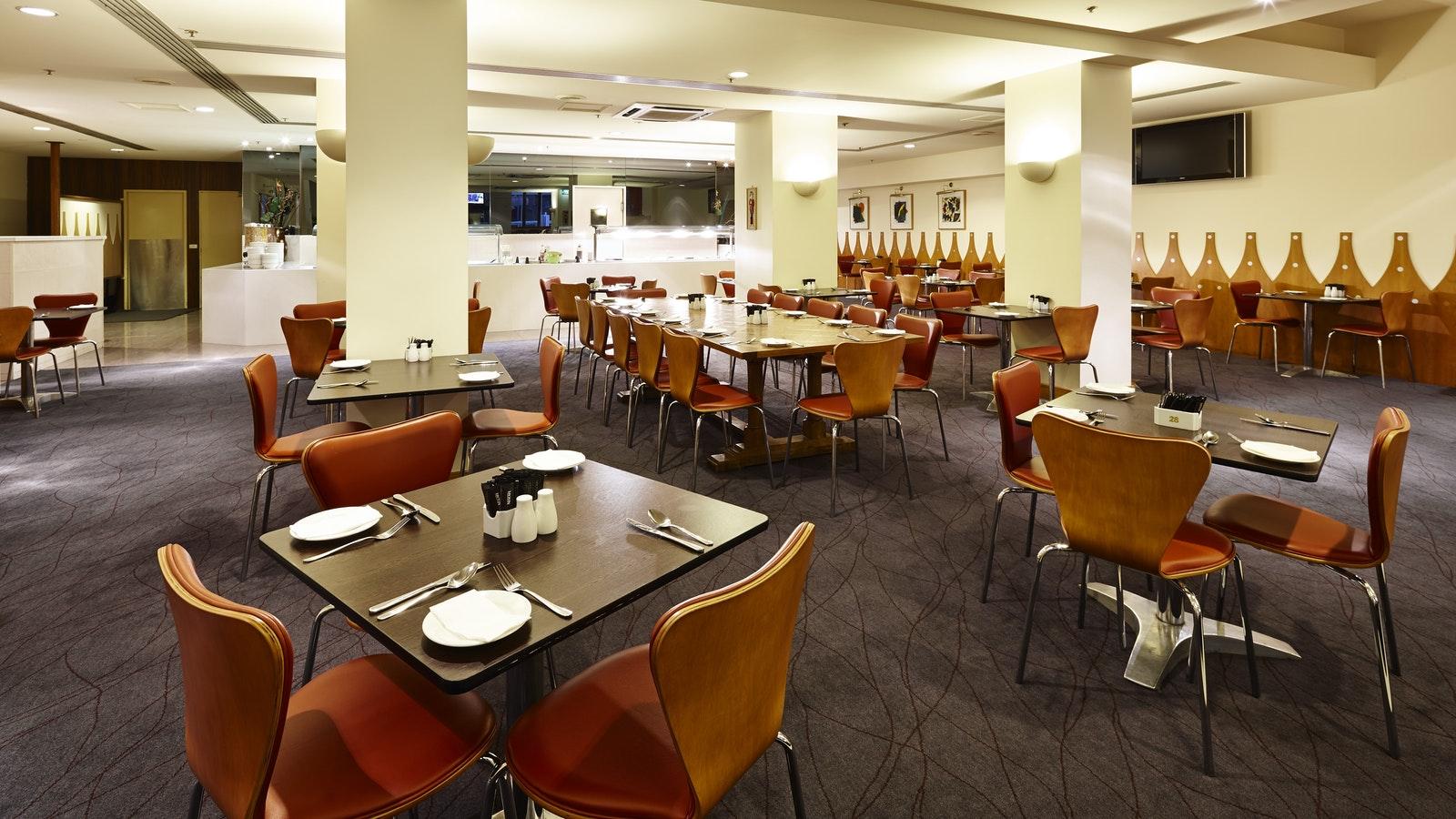 Hotel Restaurant, photograph by Rhiannon Slatter