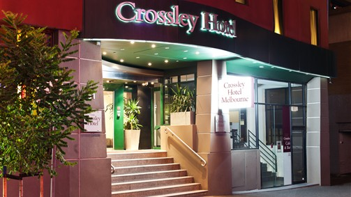 Crossley Hotel Front Entrance