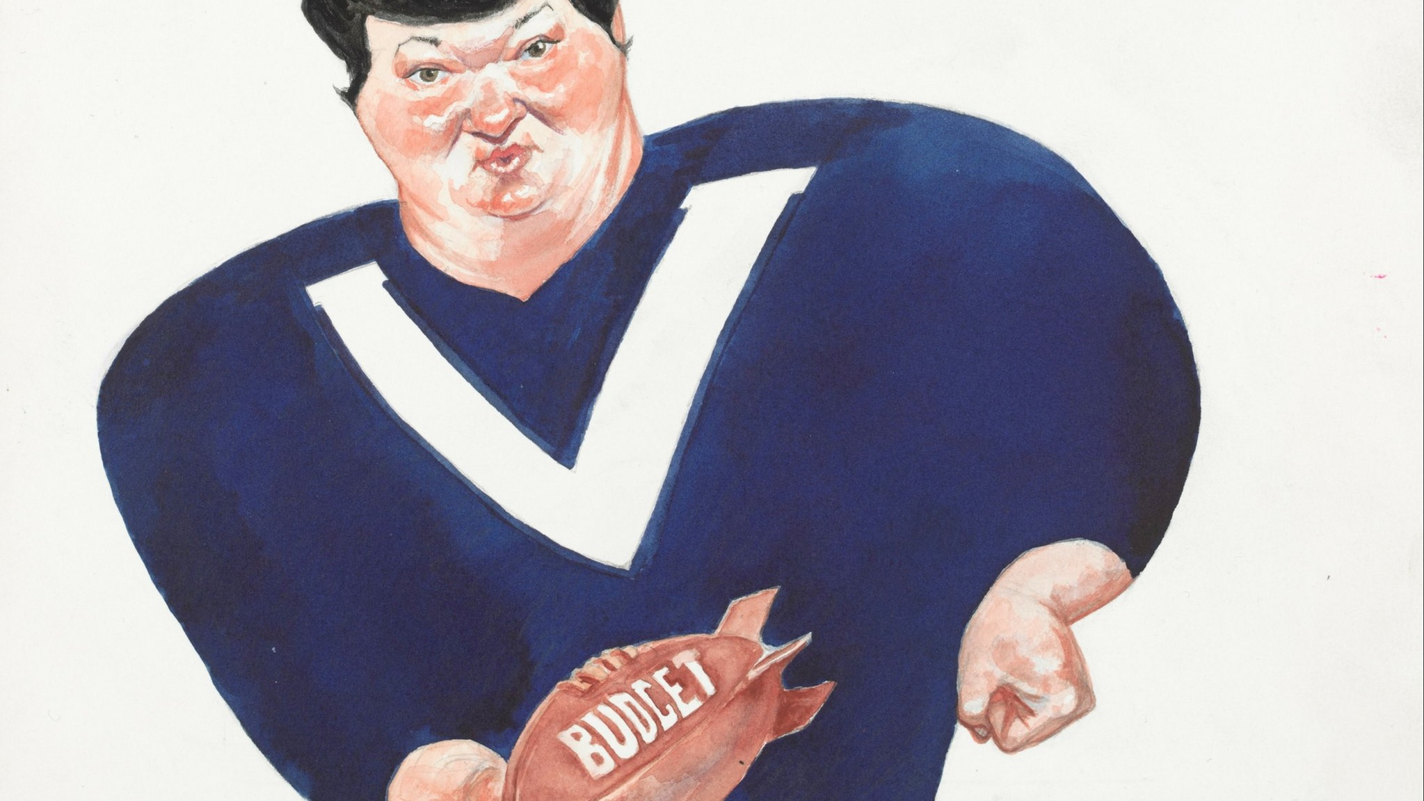 Portrait of Joan Kirner by John Spooner
