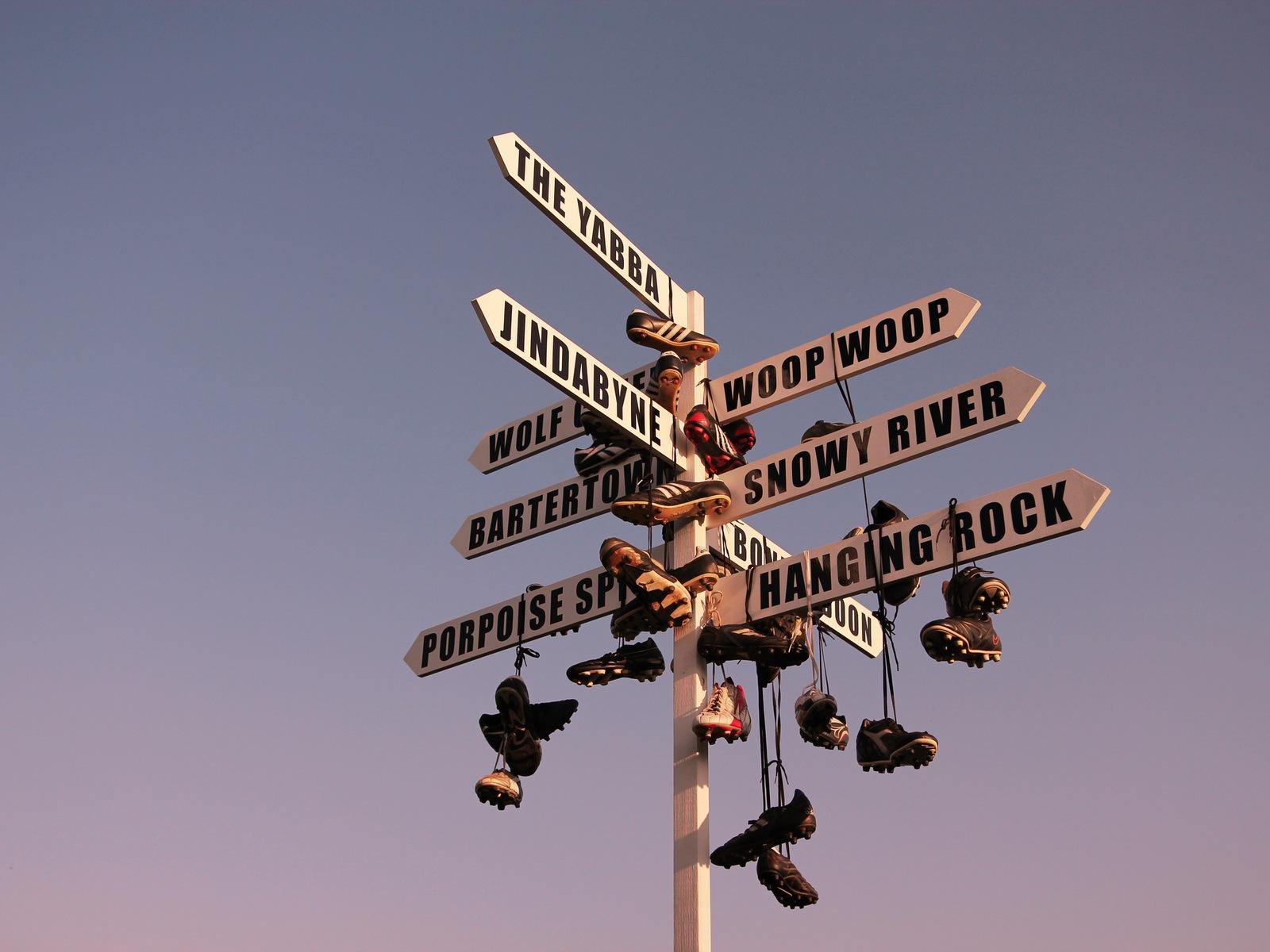 Sign - Melbourne Central
