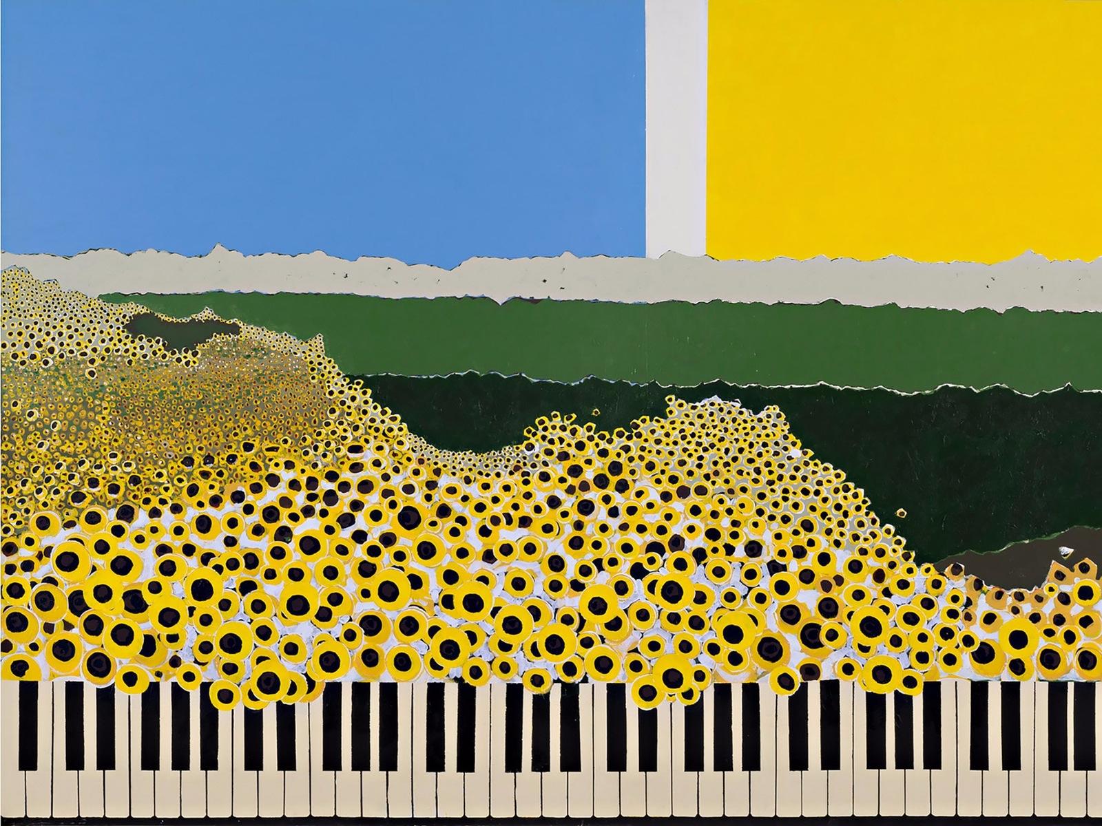 Josef Brunhuber, Sunflower Sonata, 2012