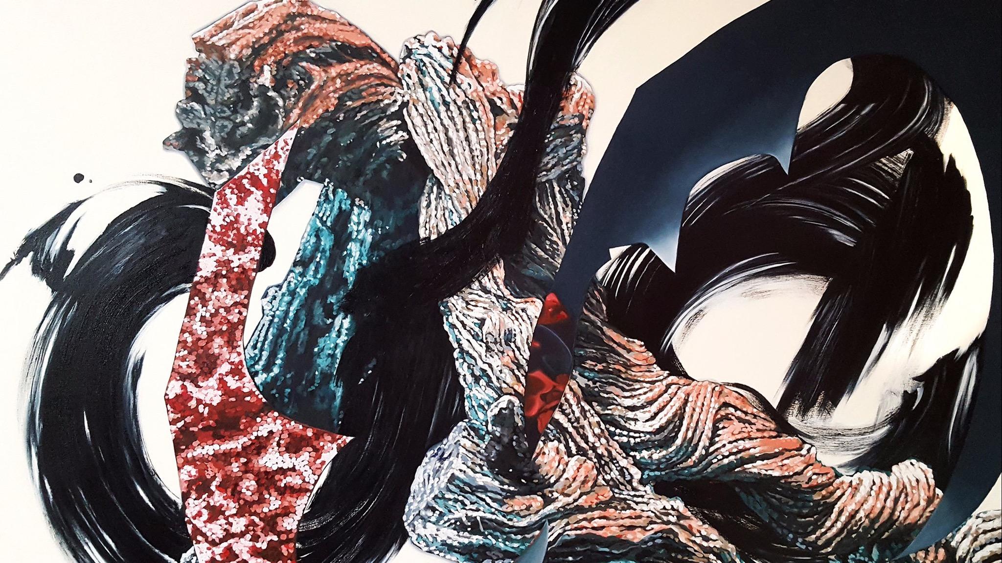 Image: Eliza Cameron, Dragon Snap, oil on canvas, 150 x 106cm
