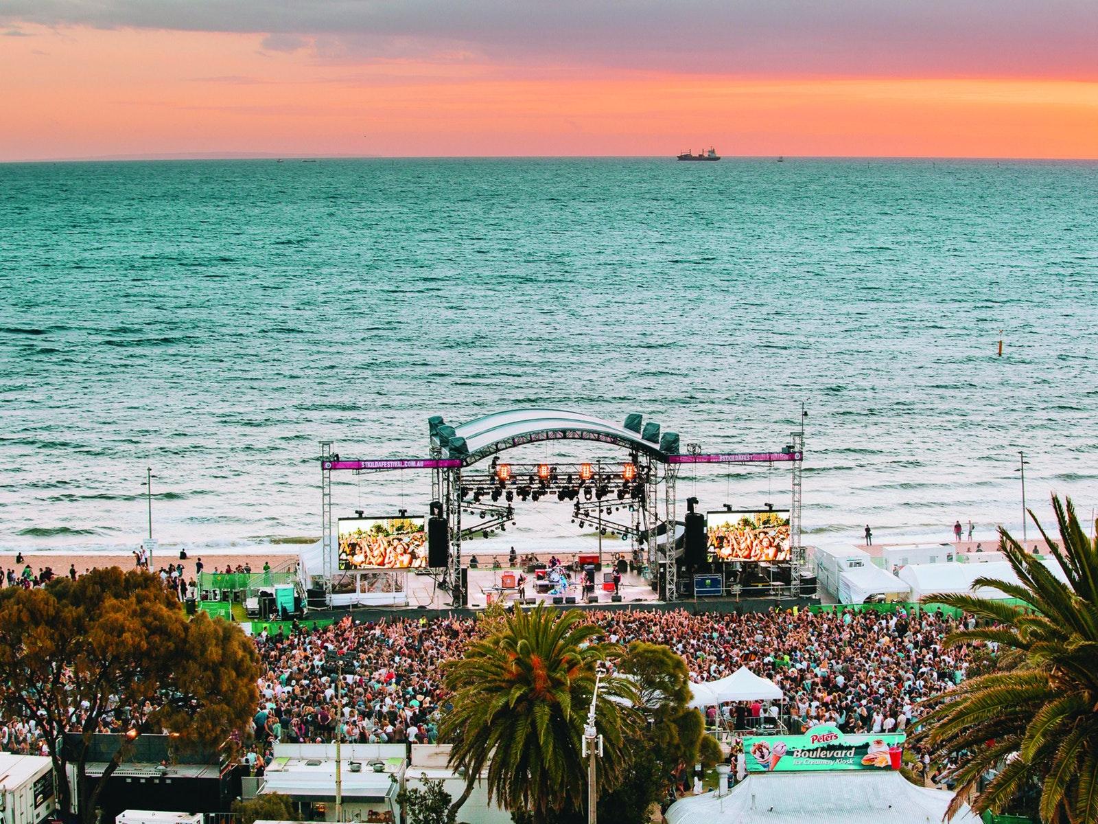 St Kilda Festival - Foreshore