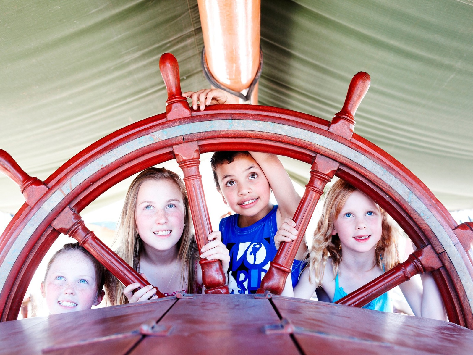 Kids on the Tall Ship. So much fun