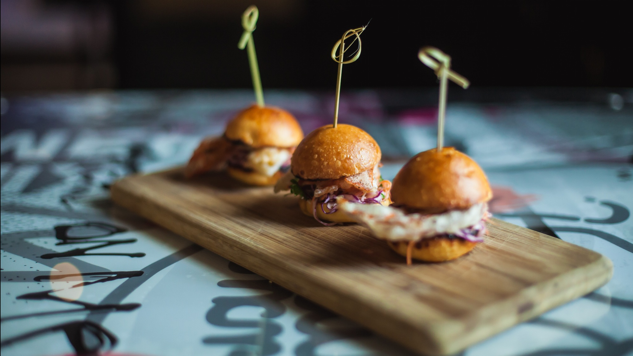 Soft Shell Crab Sliders, Ms Collins, Melbourne