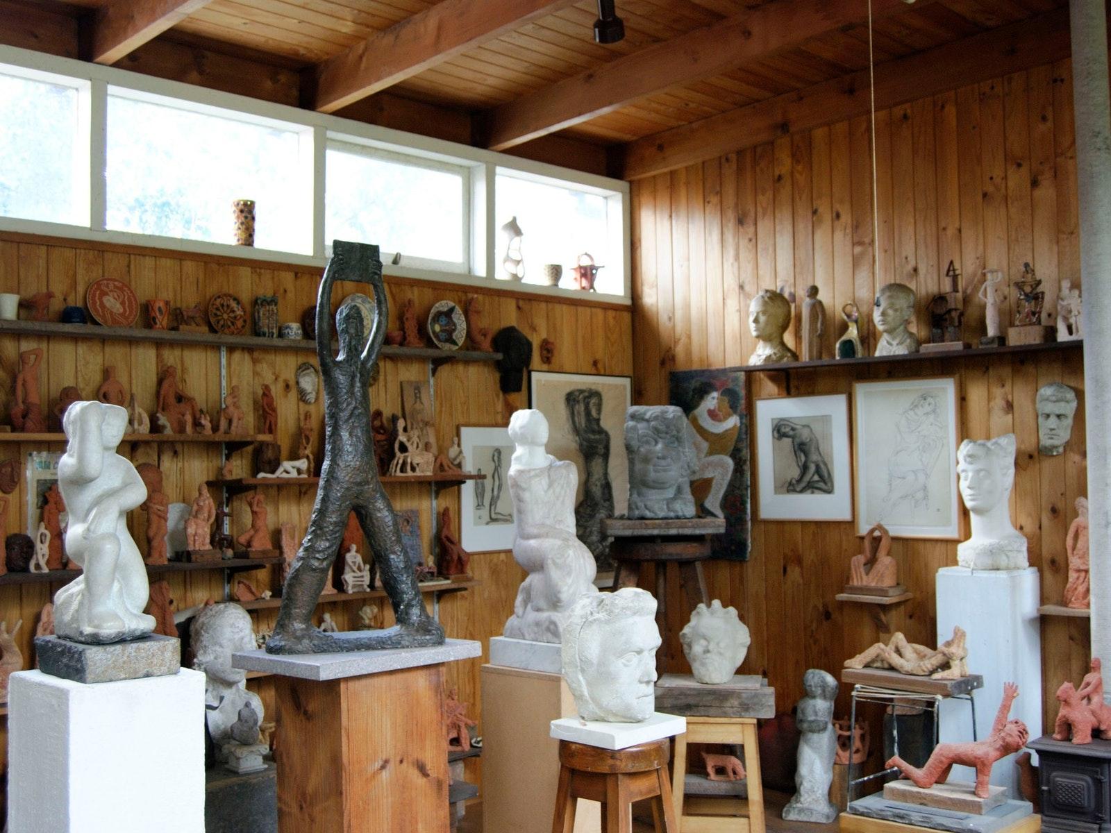 Artists' Studio at Duldig Studio