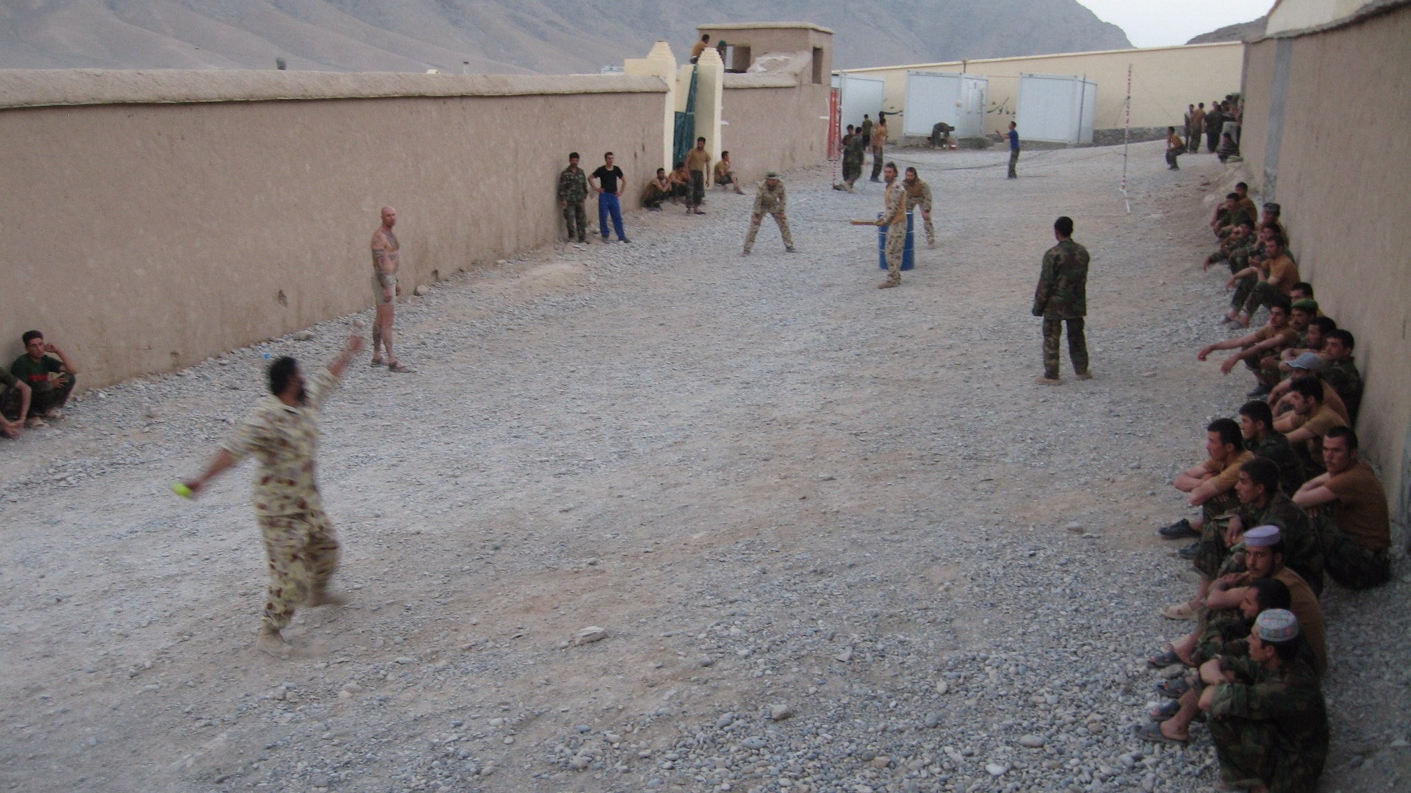 The day before 2008 Afghanistan