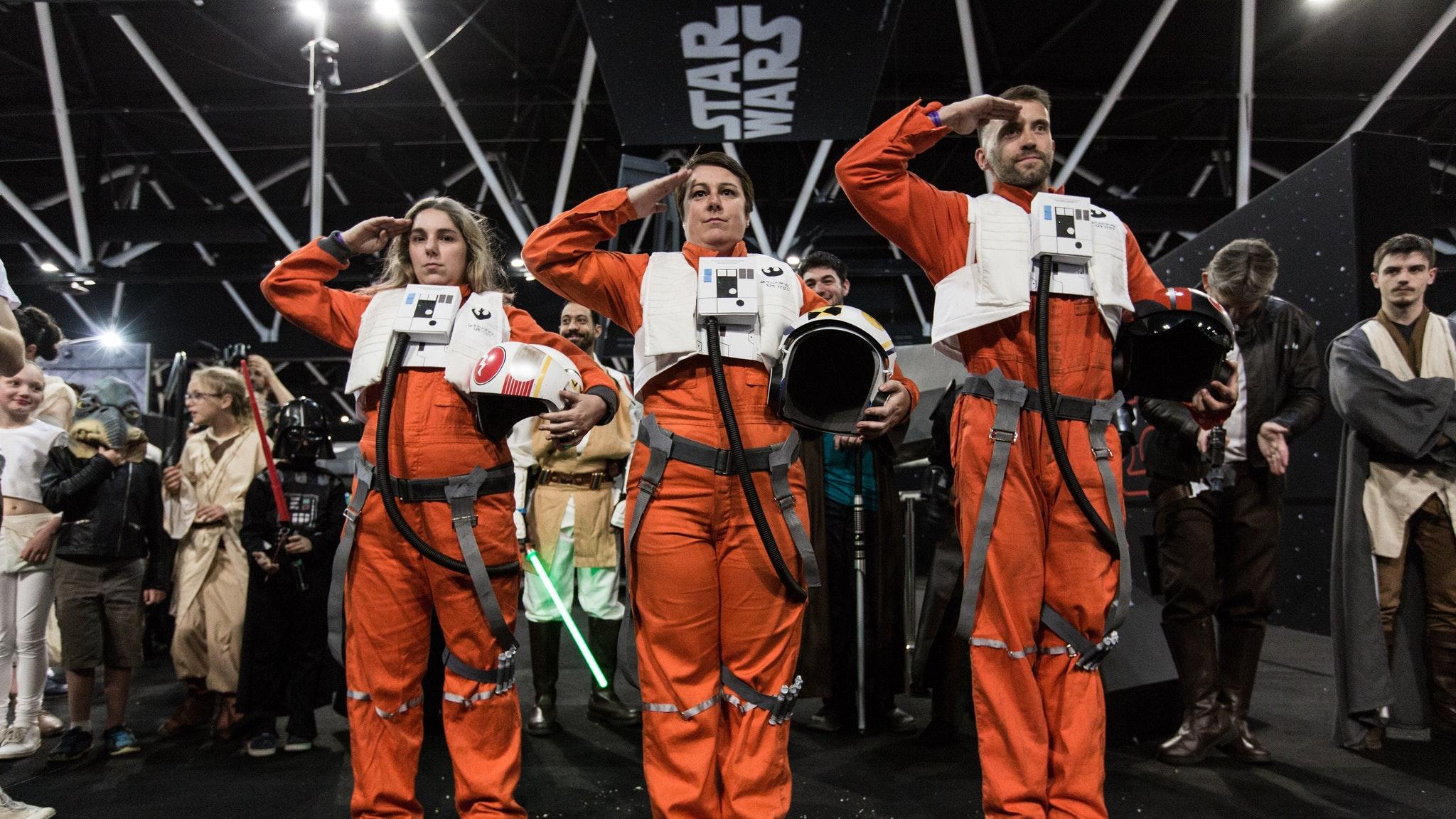 star wars cosplayers