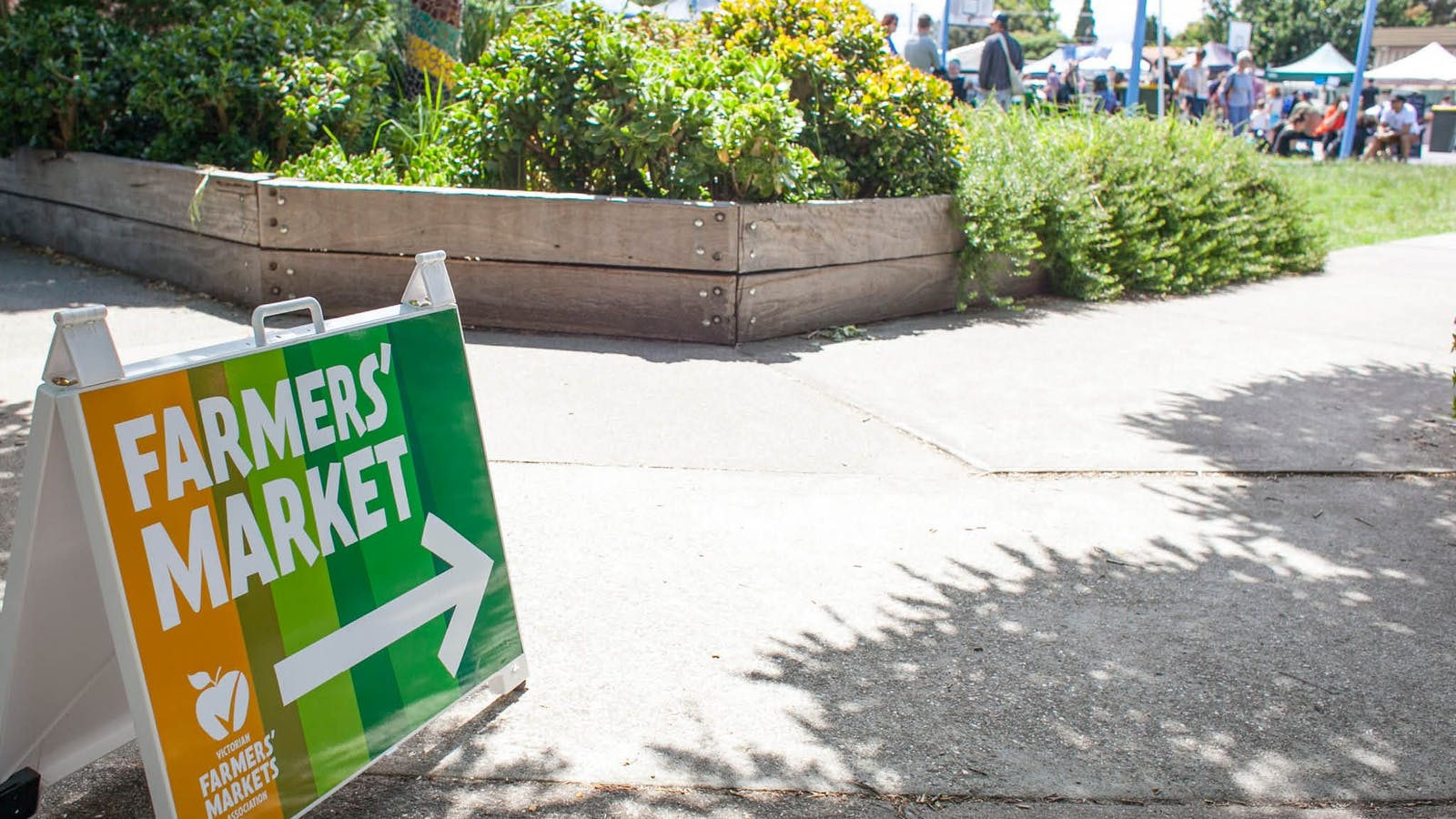 Coburg Farmers Market, accredited by the VFMA