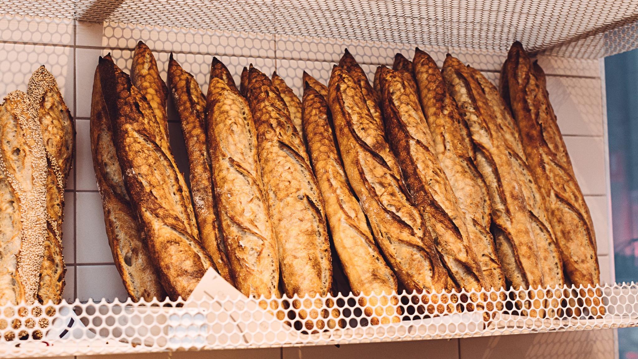Gontran Cherrier baguettes