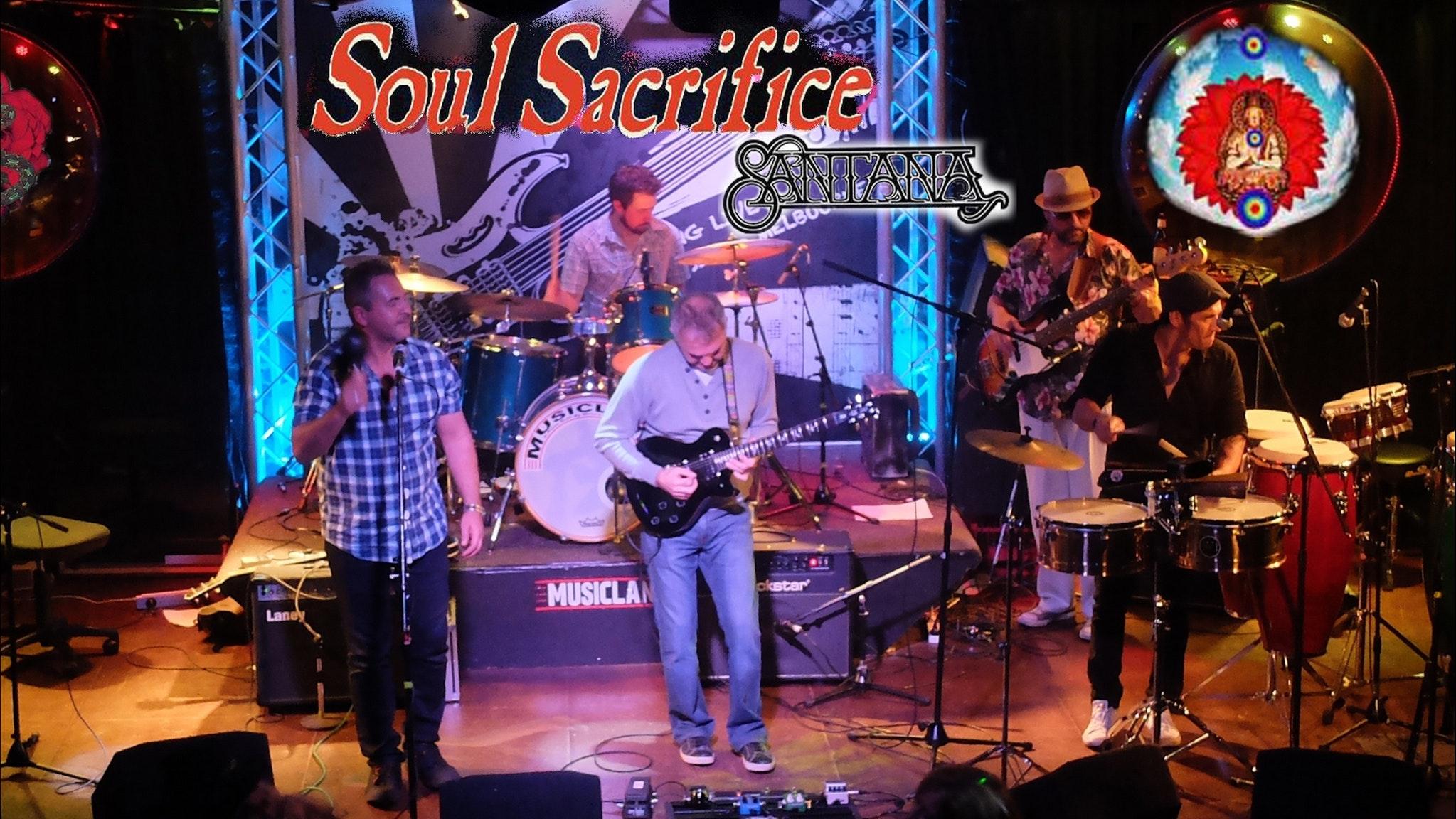Soul Sacrifice will play the Carlos Santana Song book at Bird's Basement on the  12th of October