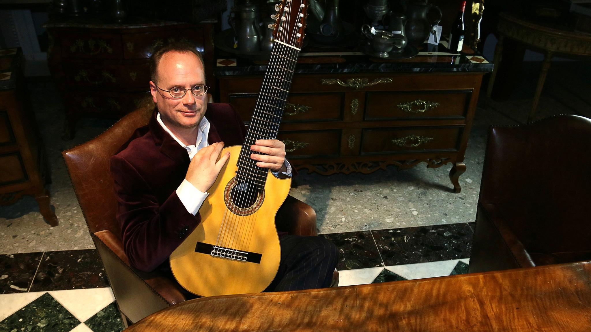 Matthew Fagan 10 String Guitarist