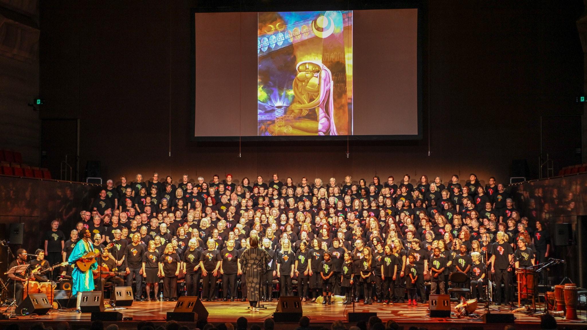 The Boite Millennium Chorus, One Africa