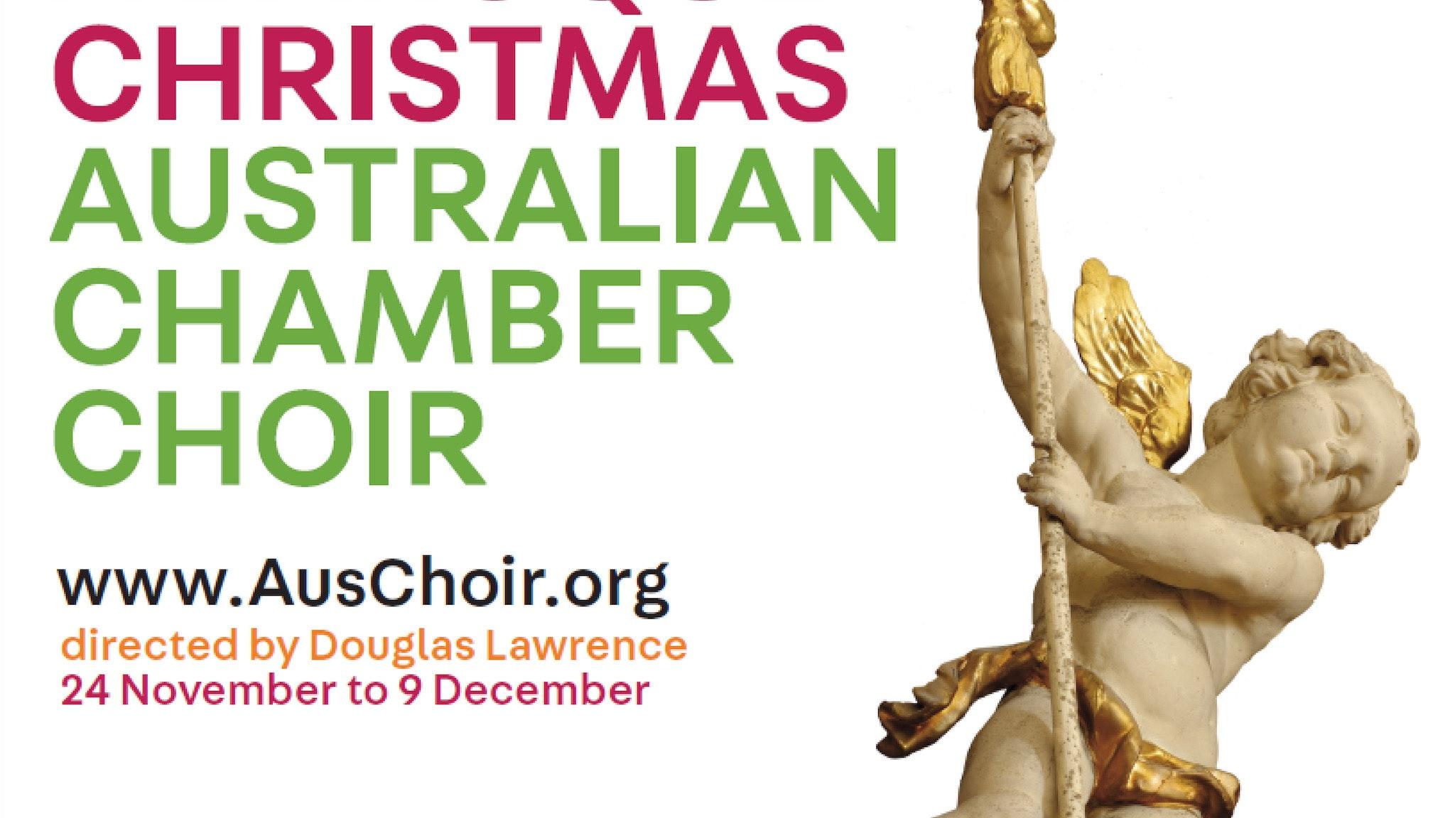 A Baroque Christmas - Australian Chamber Choir Middle Park, Event ...