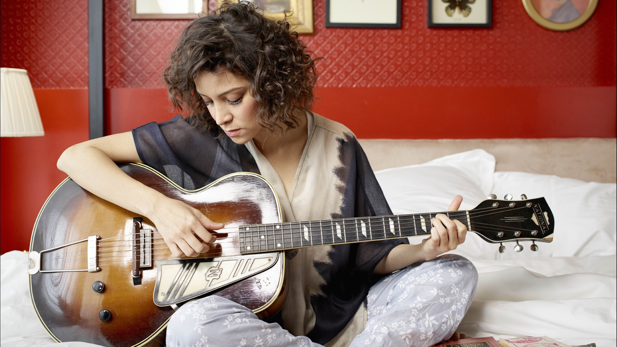Photo of singer-songwriter Gaby Moreno, who is playing at Bird's Basement for the Latin Festival