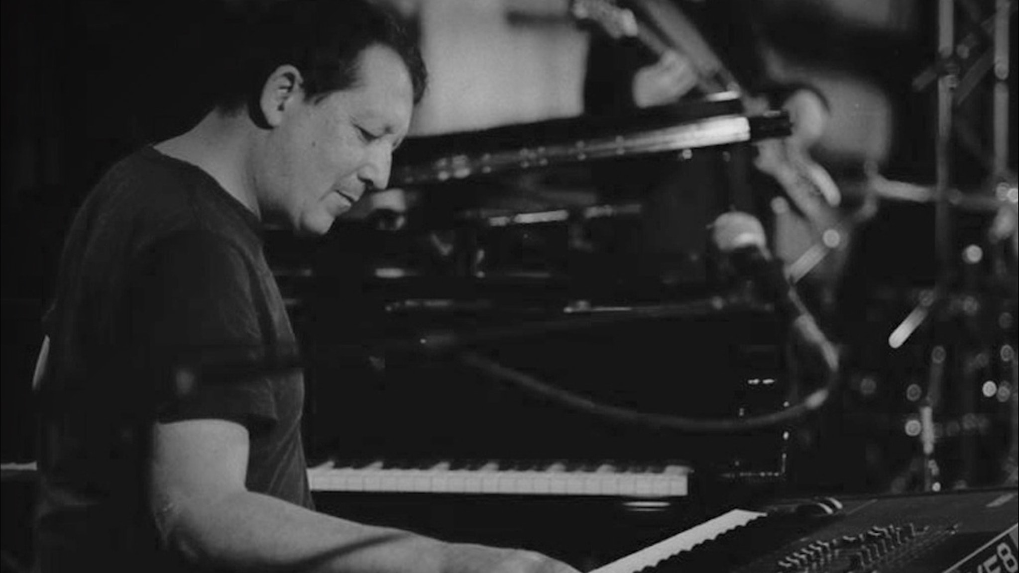 Jeff Lorber, Michael Manson,  Edward Emory and Everette Harp play in Jeff Lorber Fusion at Bird's