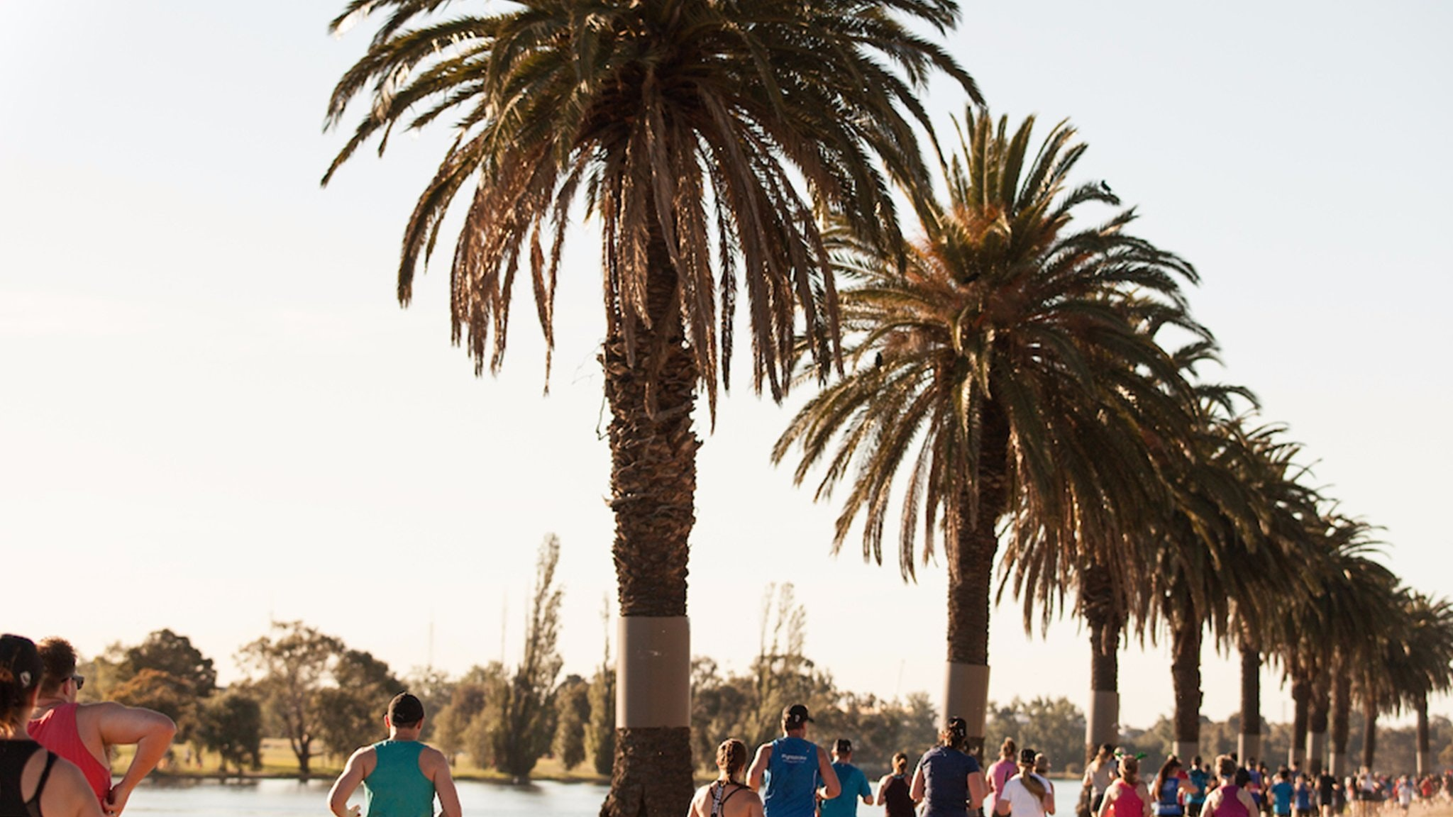End of Year Run Party, Albert Park