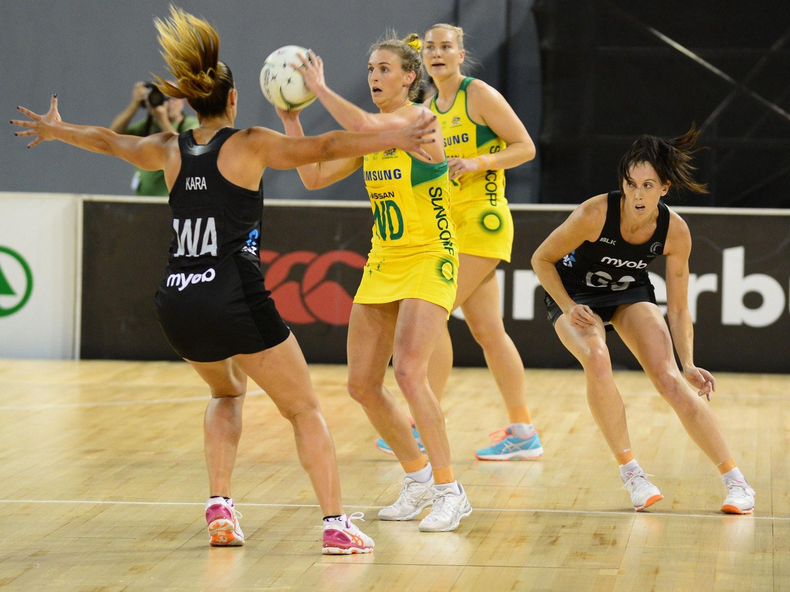 Australia vs New Zealand Quad Series 2017