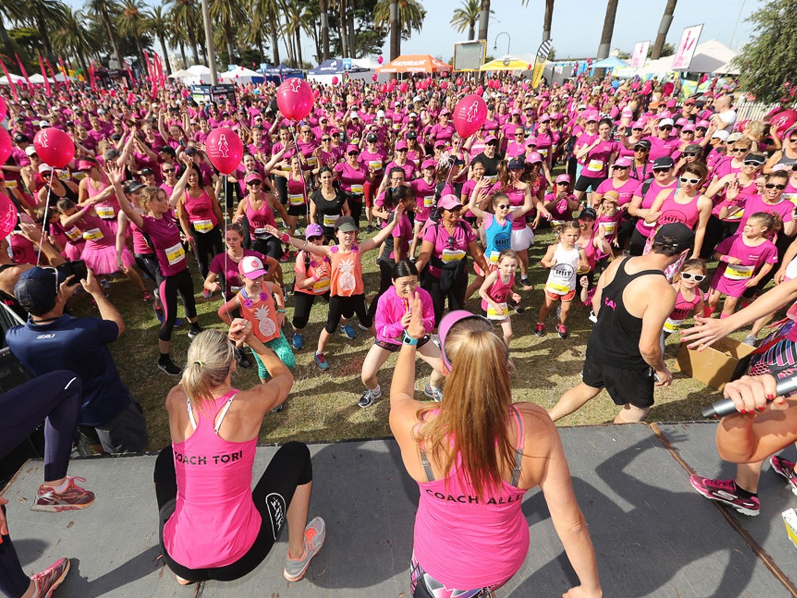 Carman's Women's Fun Run St Kilda